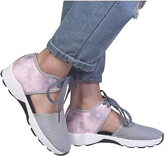 95sCloud - Zapatillas de deporte para mujer, ligeras, modernas, de malla tejida, deportivas, para alumnos o para el tiempo...