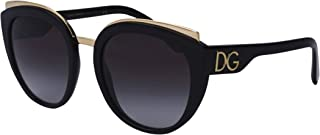 Dolce & Gabbana Occhiali da Sole PRINT FAMILY DG 4383 Black/Grey Shaded 54/21/145 donna