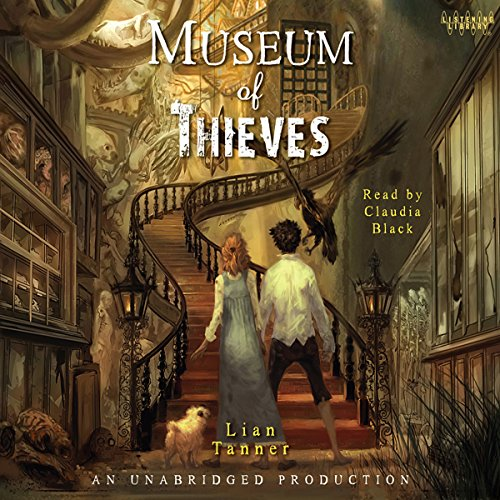 Museum of Thieves audiobook cover art