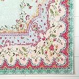 Rozenkelim Vintage Teppich   Shabby Chic Look Teppichläufer für Wohnzimmer, Schlafzimmer und Flur   70% Polypropylen, 30% Baumwolle (Pastell, 225cm x 155cm, 8 mm hoch) - 2