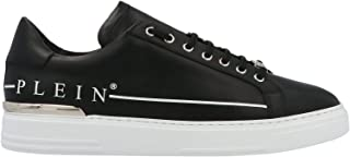 PHILIPP PLEIN Luxury Fashion Uomo MSC2731PLE075N0201 Nero Pelle Sneakers   Autunno-Inverno 20