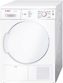 Bosch Serie | 4, 7Kg Condenser Tumble Dryer, White - WTE84106GC, 1 Year Warranty