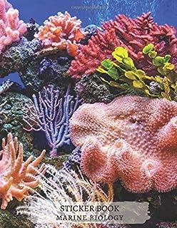 Marine Botany Biology Zoology Ecology Oceanography Blank Sticker Book, Great gift Idea for Boys Girls Toddlers Women Men: ...
