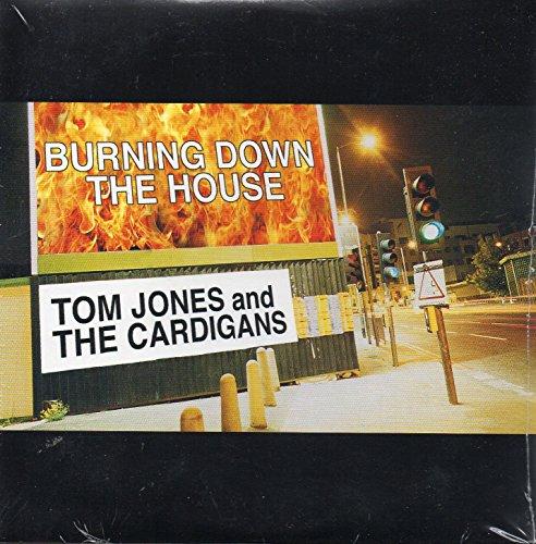 Tom JONES & The CARDIGANS - The Beatles - Burning down the house 2-track CARD SLEEVE - 1)Burning down the house 2) Come together live (Cover Version Beatles) - CDSINGLE