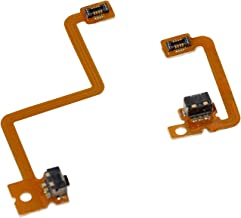 Timorn L R Shoulder Button with Flex Cable Repair Parts for Nintendo 3DS Left Right Shoulder Button (2 Sets)