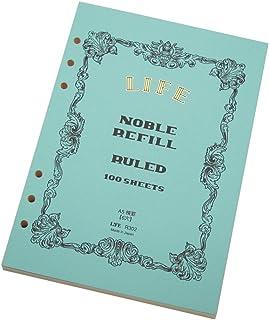 ライフ ノーブル システム手帳 リフィル 横罫 A5 R302