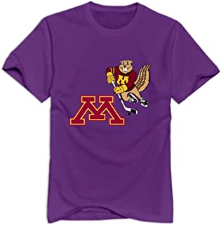 Tavil Minnesota Golden Gophers 100% Cotton T Shirt For Adult