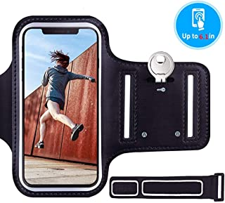 Diagtree Phone Armband Sleeve Running Jogging and Workout Cellphone Holder Fitness Gear Accessories For Women Men IPhone 8...