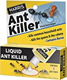 HARRIS Borax Liquid Ant Killer, 1oz - Includes 9 Bait Stations (1-Pack)