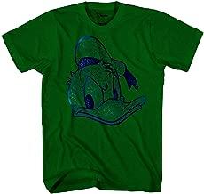 Disney Donald Duck Face HD Gel Glossy Ink Disneyland World Funny Humor Pun Tee Adult Mens T-Shirt