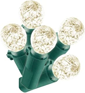 Philips 60ct. Warm White LED Faceted Sphere String Lights