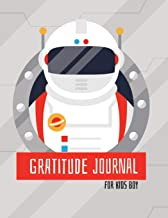 Gratitude Journal for Kids Boy: Daily Writing Today I Am Grateful for and Something Awesome That Happened Today - Astronaut Design