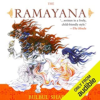 The Ramayana audiobook cover art