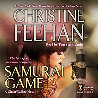 Samurai Game     Game - Ghostwalker, Book 10              By:                                                                                                                                 Christine Feehan                               Narrated by:                                                                                                                                 Tom Stechschulte                      Length: 14 hrs and 4 mins     781 ratings     Overall 4.6