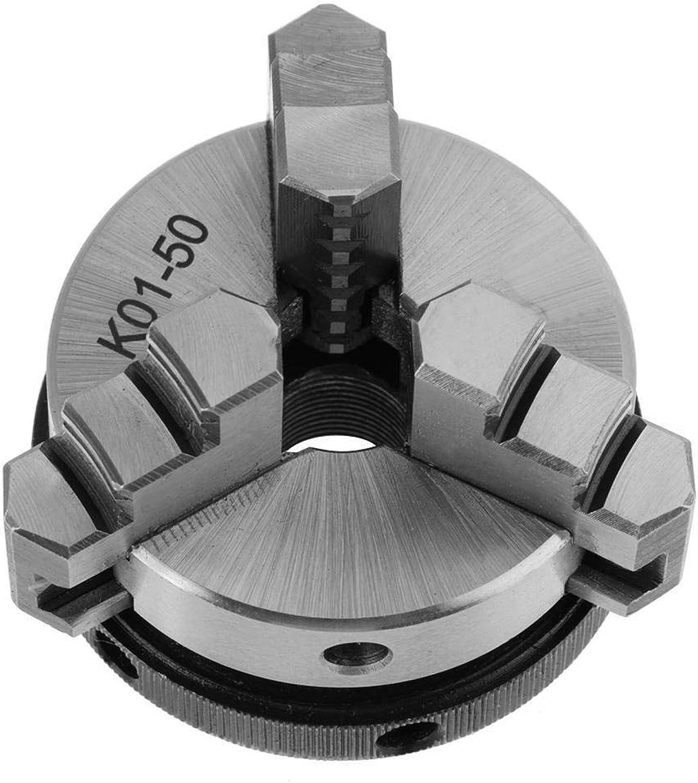 Mikolot Manual SelfCentering DIY Metal Wood Lathe Chuck Woodworking Parts (K0150)