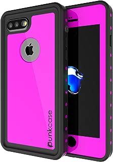 iPhone 7s Plus Waterproof Case, Punkcase [StudStar Series] [Slim Fit] [IP68 Certified] [Shockproof] [Dirtproof] [Snowproof] Armor Cover for Apple iPhone 7 Plus & 7s + [Pink]