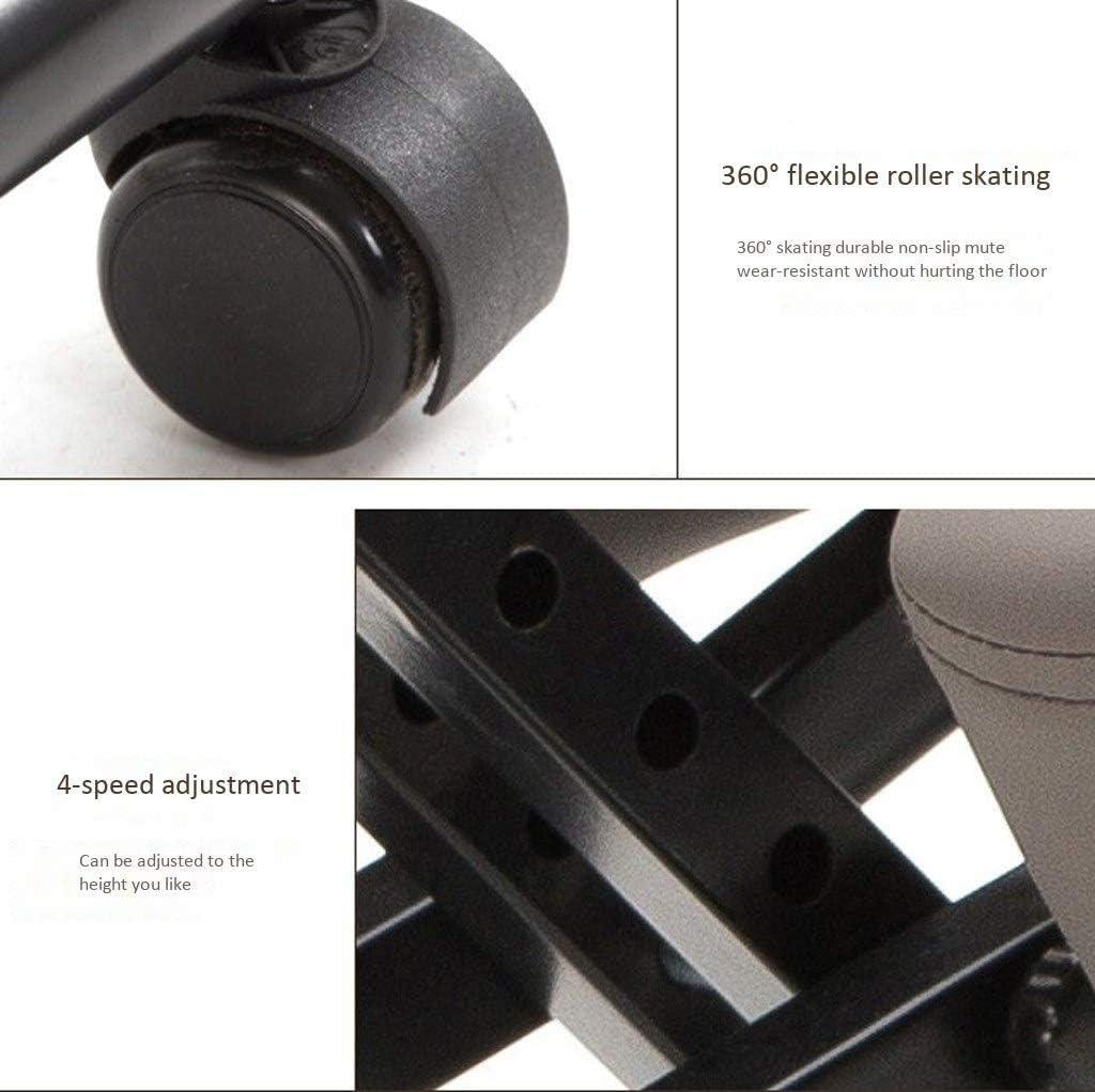 Agenouillé Chaises Chaises de bureau ergonomique Ascenseur Tabouret permet de réduire la douleur au bas du dos avec poulie réglable en hauteur (Color : Gray B) Gray B