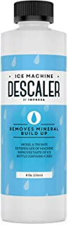 Impresa Products Ice Machine Cleaner/Descaler - 4 Uses Per Bottle - Made in USA - Works on Scotsman, Manitowoc and Virtually All Other Brands (Ice Maker Cleaner/Icemaker Cleaner)