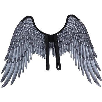 Halloween como en la Imagen Fiestas alas de /águila Grande no Tejidas Navidad Tama/ño Libre Yzki Disfraz de alas de p/ájaro para Adulto Accesorio de Escenario para Carnaval