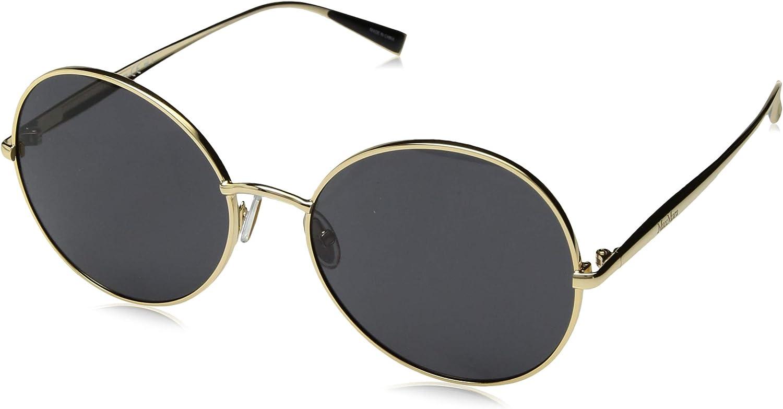 Max Mara Women's Mm Ilde V Round Sunglasses pink gold 57 mm