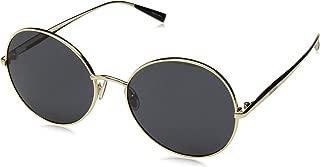 Max Mara Women's Mm Ilde V Round Sunglasses, Rose Gold, 57 mm