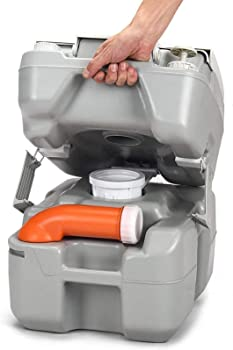 Safstar Portable Anti-Leak Water Pump RV Toilet