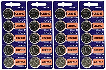Sony 3V Lithium CR2032 Batteries  4 Blisters of 5  20 Cells