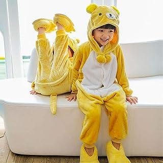 Pijamas de Navidad para niños, pijamas de dinosaurio de franela cálidos de invierno, pijamas de animales de dibujos animad...
