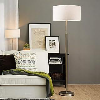 WY-YAN Lámpara de pie, simples modernos nórdicos de pie luminarias de sala dormitorio creativas verticales Opciones del co...