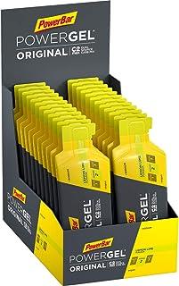 PowerBar PowerGel original citron lime 24 x 41 g – högkolhydrat-gel + C2MAX och natrium