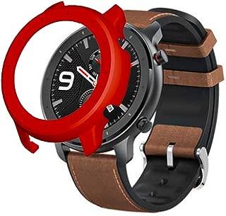 2019, ¡Nuevo! Reemplazo PC Watch Case Cover Shell Frame Protector para Xiaomi Huami AMAZFIT GTR 47mm,Colorida Funda Protectora para PC