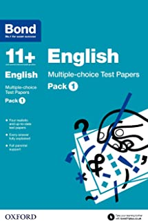 Bond 11+: English: Multiple-choice Test Papers: Pack 1