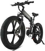 Bicicleta Electrica Plegable 26 Pulgadas 1000W 48V batería Dual MTB E-Bike Adulto Hombre Mujer