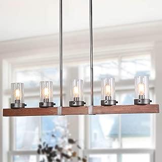 Best linear chandelier wood Reviews