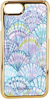 Lilly Pulitzer Women's iPhone 7 Luxe Cover Serene Blue Oh Shello Cellphone Case