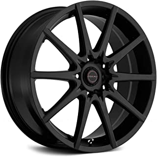 Focal 428SB F-04 Matte Black Wheel with Painted (16 x 7. inches /4 x 100 mm, 42 mm Offset)