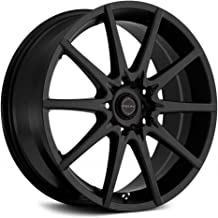 Focal 428SB F-04 Matte Black Wheel with Painted (17 x 7.5 inches /5 x 100 mm, 48 mm Offset)
