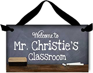Toad and Lily Teacher Chalkboard Classroom Door Sign Teacher End of Year Gift TDS009