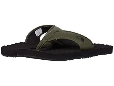 The North Face Base Camp Flip-Flop II (New Taupe Green/TNF Black) Men