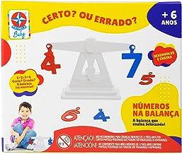 NÚMEROS NA BALANÇA, Brinquedos Estrela, Multicor