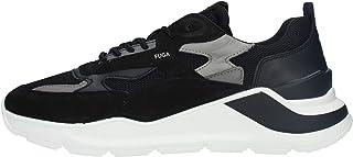 D.A.T.E. Sneakers Pelle Uomo cod.M331FGMEBK