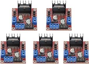 5Pcs Dual H Bridge DC Stepper Motor Driver Controller Board Module for Arduino L298N