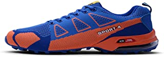CHENSF Men's Hiking Shoes Non Slip Outdoor Lace up Climbing Trail Running Shoes