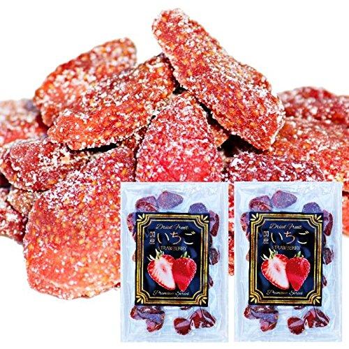 完全 国産 ちょっと贅沢な プレミアム リッチ セミ ドライフルーツ いちご 苺 2袋(100g) おやつ お菓子作り おつまみ トッピング