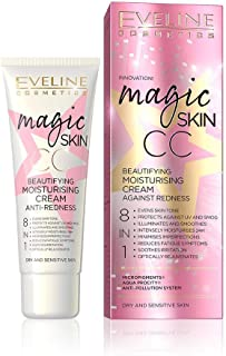 EVELINE MAGIC SKIN CC MOISTURISING CREAM ANTI-REDNESS 8IN1 50ML