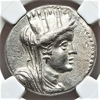 GR 56/5 BC Ancient Greece Antique Silver Greek Coin AR Tetradrachm Choice Extremely Fine NGC