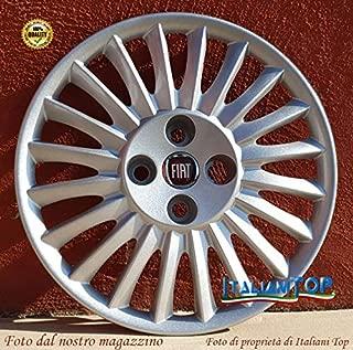 SET 4 COPRICERCHI COPPA RUOTA COPRIRUOTA BORCHIE 15 FIAT GRANDE PUNTO 1215