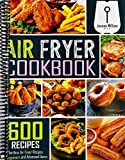 Air Fryer Cookbook: 600 Effortless Air Fryer Recipes for Beginners and Advanced Users William, Jenson [Dec 12, 2019]