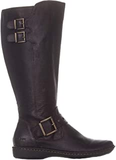 Womens Oliver Leather Knee-High Riding Boots