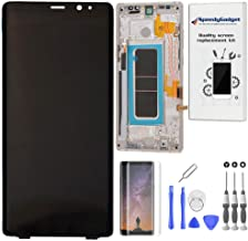 Maple Gold Frame - for Samsung Note 8 Amoled Display Touch Screen Digitizer Replacement LCD by SpeedyGadget